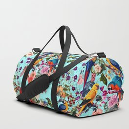 Floral and Birds XI Duffle Bag