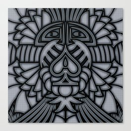 Ace of Tribes IRON Canvas Print