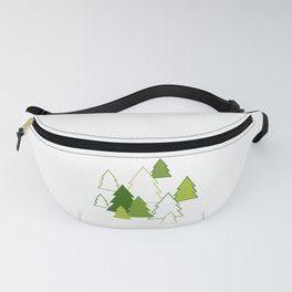 Winter forest Fanny Pack