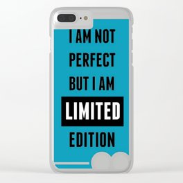 life quote Clear iPhone Case