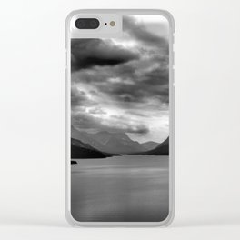 Mountain Lake Clear iPhone Case