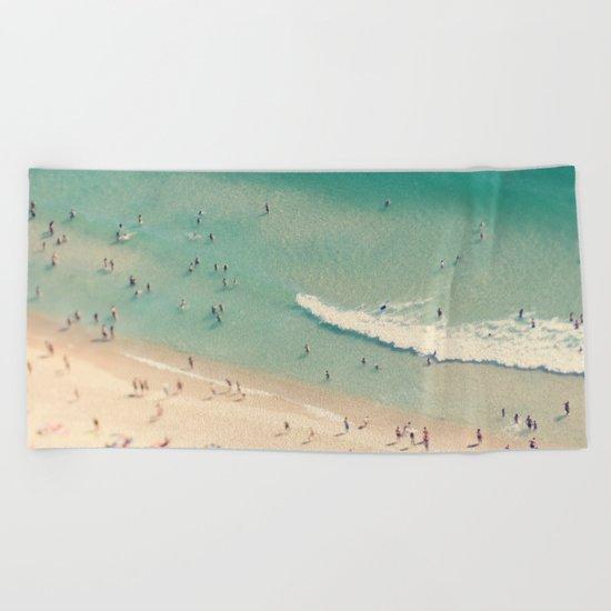 beach love II - Nazare Beach Towel