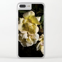 Wilted flowers Clear iPhone Case
