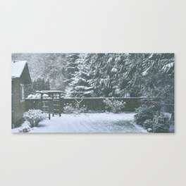 Cozy Canvas Print