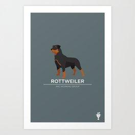 Rottweiler Art Print