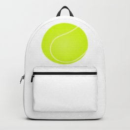 Tennis Ball Icon Backpack