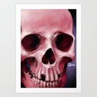 Skull 8 Art Print