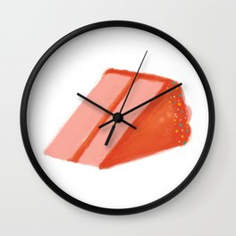 cake sprinkles Wall Clock