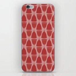 Menstrual cups - Pink iPhone Skin