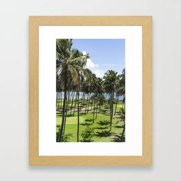Sri Lankan Sea Shore Framed Art Print