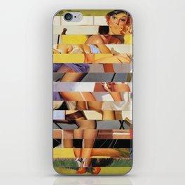 Glitch Pin-Up Redux: Isabella iPhone Skin