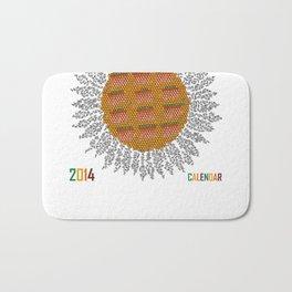 Calendar 2014 - Sunflower Bath Mat