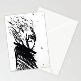 The grey  Stationery Cards