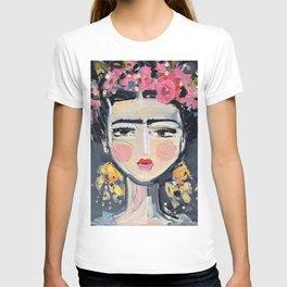 Portrait Inspired by Frida T-shirt