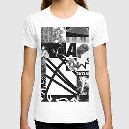 B/W composition T-shirt