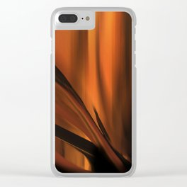 Wilted Agave Clear iPhone Case