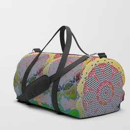 kaleidoscope board roller Duffle Bag
