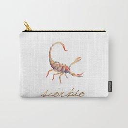 Watercolor Scorpio Scorpion Carry-All Pouch