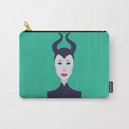 Maleficent Portrait Carry-All Pouch