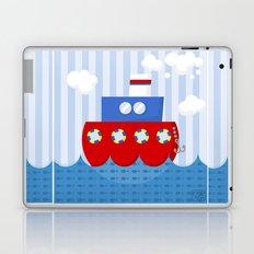 little boat Laptop & iPad Skin