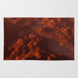 The Last Drop of Water on Mars Rug