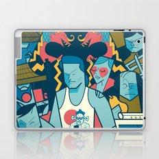Big Trouble Laptop & iPad Skin