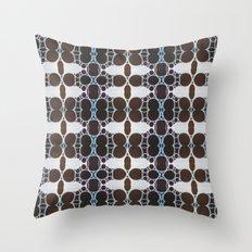 Vintage Circle  Throw Pillow