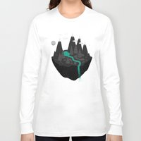 island Long Sleeve T-shirts featuring island. by Louis Roskosch