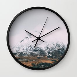 Mount Errigal - Ireland Print (RR 257) Wall Clock