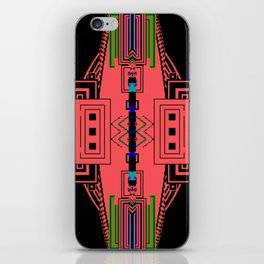 Hyper dimensional 8bit Fabric iPhone Skin