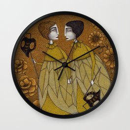 To Save the BEES! Wall Clock