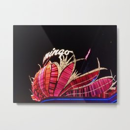 The Flamingo Metal Print