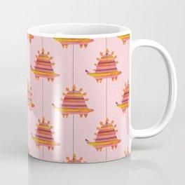 Pink Dino Pinata Coffee Mug