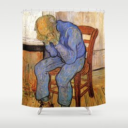 At Eternity's Gate by Vincent van Gogh Shower Curtain
