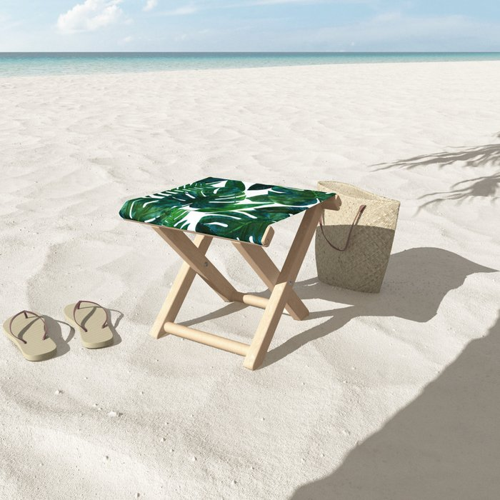 Perceptive Dream || #society6 #tropical #buyart Folding Stool