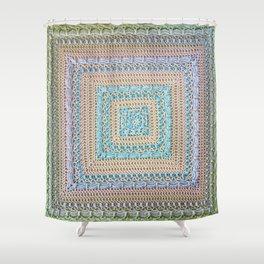 Timeless Crochet Shower Curtain