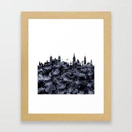 Christchurch skyline New Zealand Framed Art Print