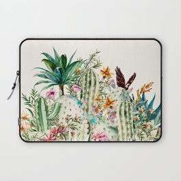 Blooming in the cactus Laptop Sleeve