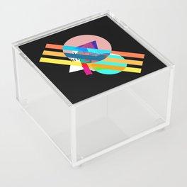 """Collage, """"RITT"""" Acrylic Box"""