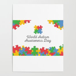 Child Health Day (Autism) 4 Poster