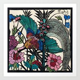 """Bird of Paradise"" by Margaret Preston Art Print"