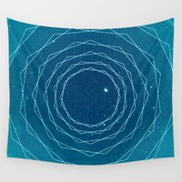 ice Wall Tapestries featuring Ice by 5eth