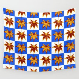 Patchwork Autumn Wall Tapestry