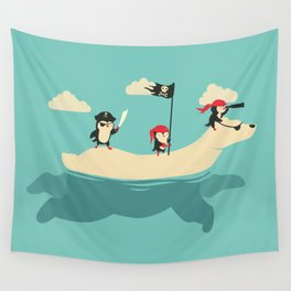 The Scourge of the Arctic Wall Tapestry