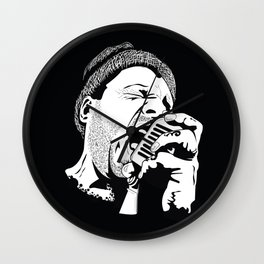 ·the voice Wall Clock