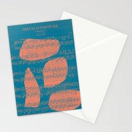 Schubert Sheet Music - Impromptu Stationery Cards