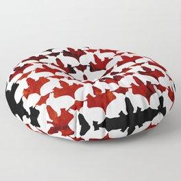 Spring Bunny Floor Pillow
