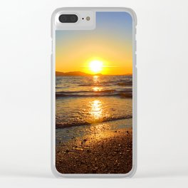 Tides Coming In Clear iPhone Case