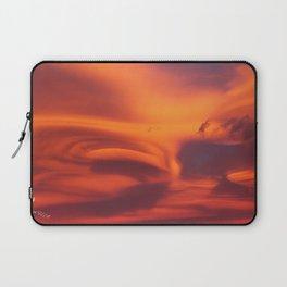 Strange sunset Laptop Sleeve