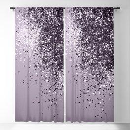 Sparkling Lavender Lady Glitter #1 #shiny #decor #art #society6 Blackout Curtain